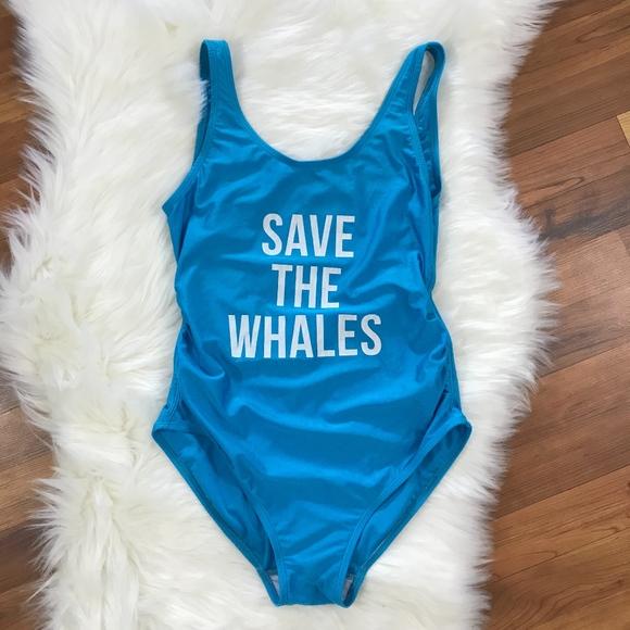 2fce870365e Mamagama Maternity One Piece Swim Save The Whales.  M_5b2112a6d6dc525691868045